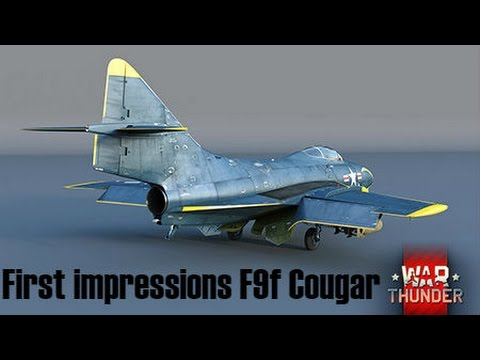 War Thunder F9f-8 Cougar First Impressions