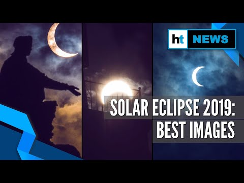 Solar Eclipse 2019 | Watch Some Of The Best Images Of The Spectacle