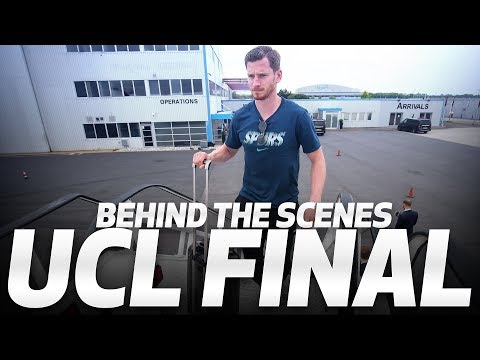 BEHIND THE SCENES | SPURS TRAVEL TO MADRID FOR THE UEFA CHAMPIONS LEAGUE FINAL