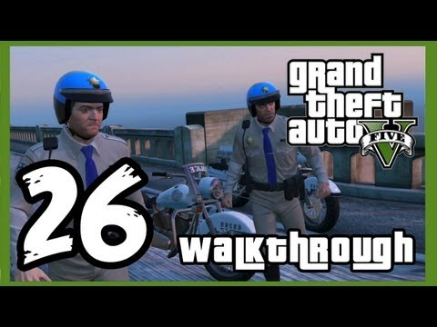 "Grand Theft Auto V Walkthrough PART 26 [PS3] Lets Play Gameplay TRUE-HD QUALITY ""GTA 5 Walkthrough"""