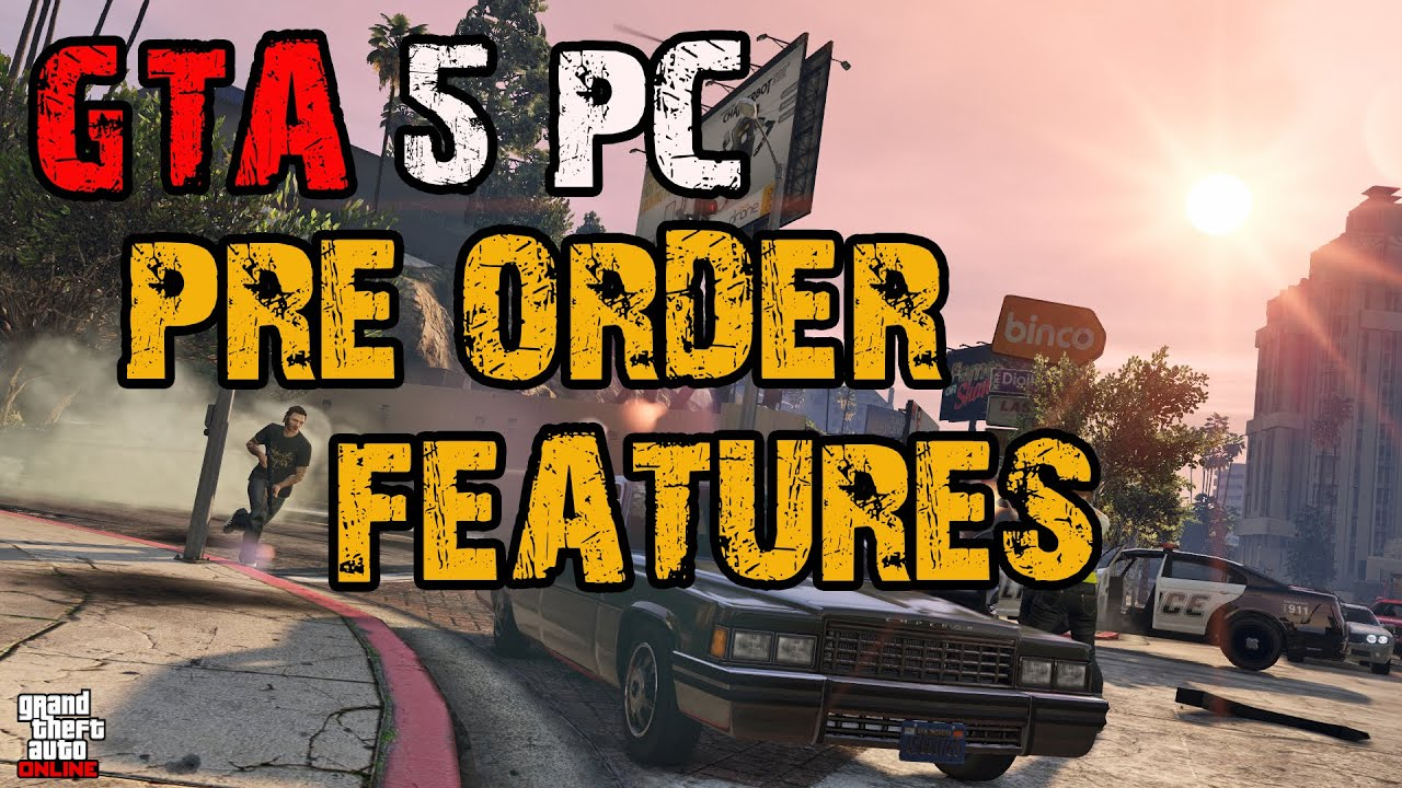 Gta 5 pc features