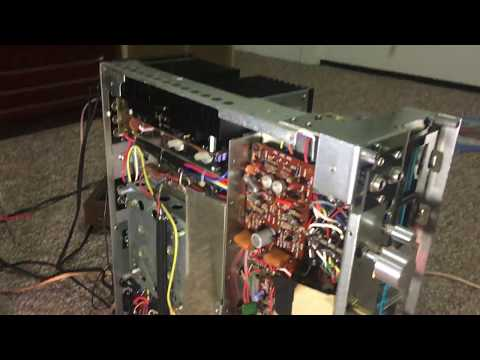 Marantz 2245 Hissing Noise Distortion in Left Channel Phono input stage Hiss H 706 Transistor