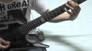 Arch EnemyのNEMESISをクリスパートで弾いてみました。 メタル布教!