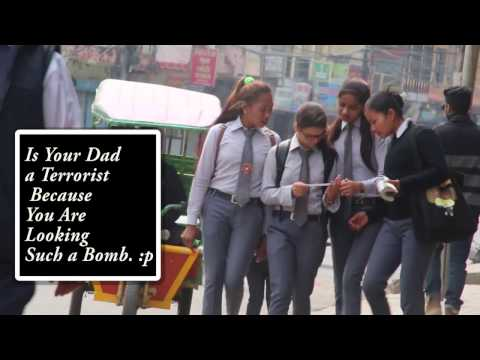 Passing Weird Notes To People Prank (Nepali Prank) Laugh Out Loud Nepal 2017