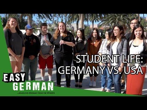 Student life: Germany vs. USA | Easy German 168