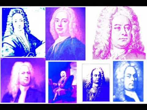 GEORGE FRIDERIC HANDEL Water Music COUNTRY DANCE 1&2