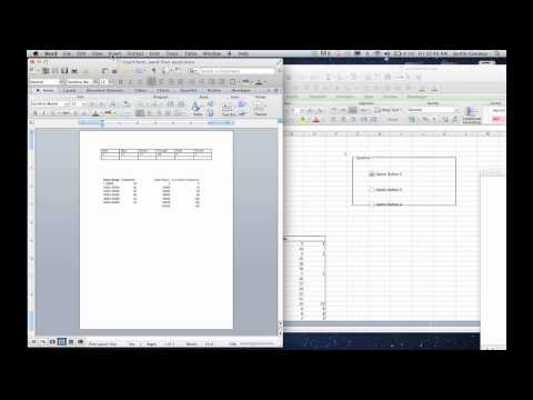 How to Link Data Between Word & Excel : Microsoft Excel Tips