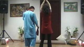 ICAE Diwali Celebration-2009.Dance presentation by Bollywood Group-Estonia on Aaja Mahi Ve Song
