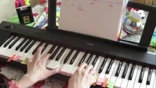 ОКОНЧАНИЕ красивой МЕЛОДИИ на фортепиано