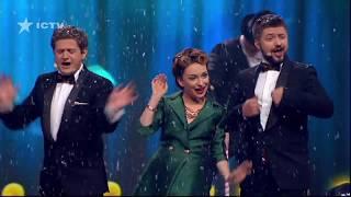 Новогодний танец и песня от актеров Дизель Шоу | ЮМОР ICTV НОВЫЙ ГОД