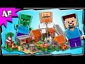 Lego Minecraft VILLAGE 21128 Animation & Stop Motion Build Review