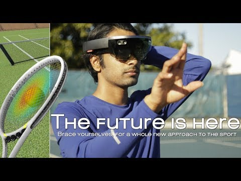 The Future of Tennis Coaching | Mixed Reality Experience