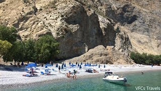 Sweetwater Beach, Crete - Cliff Hike to Glyka Nera Beach, Chora Sfakion