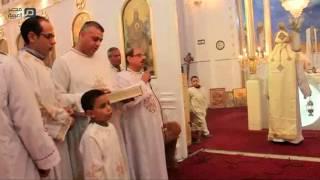 مصر العربية   أقباط الغربية يحتفلون بعيد الغطاس وسط تشديدات أمنية
