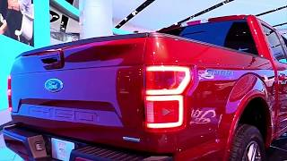 2018 Ford F150 Lariat Red FullSys Features | New Design Exterior Interior | First Impression