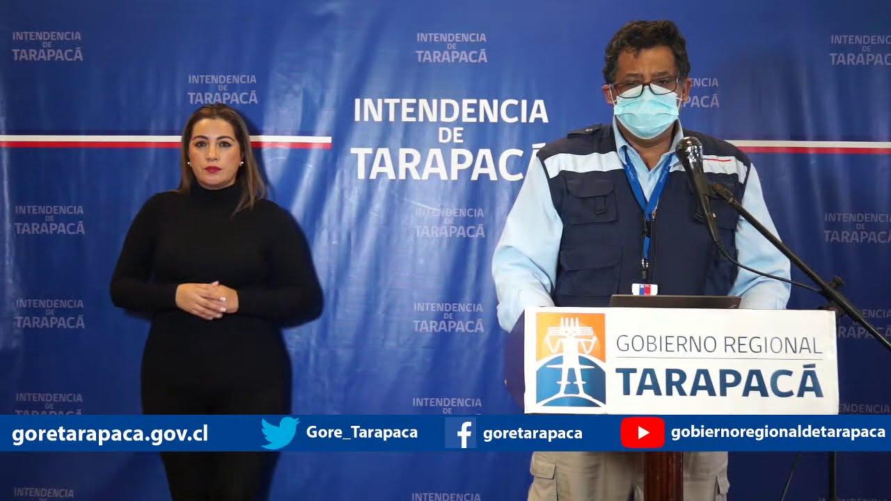 Punto de prensa 14 de julio de 2020 - Gobierno Regional de Tarapacá