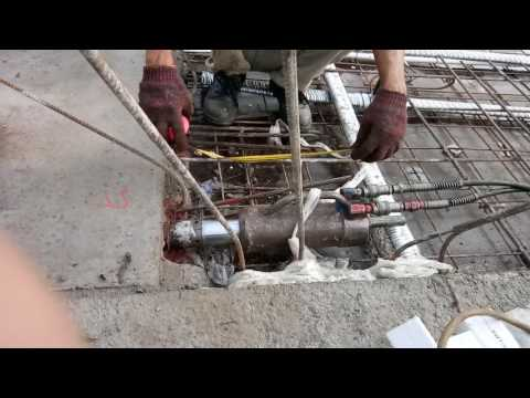 Cable Stressing for Post Tension Slab
