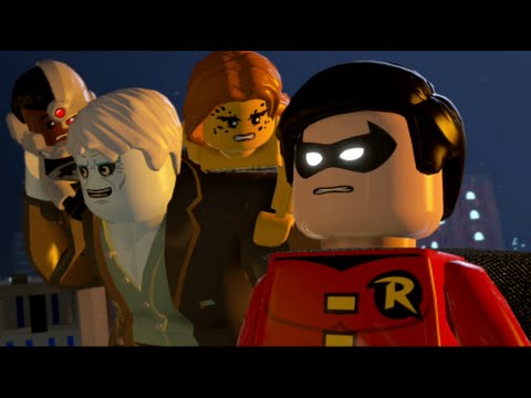 LEGO Batman 3: Beyond Gotham - Walkthrough Part 8 - Europe Against It