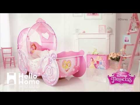 Disney Princess Carriage Bed HelloHome
