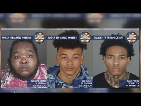 Suspects involved in armed robbery at high end Beverly Hills restaurant arrested