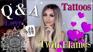 Q & A   Twin Flames, Tattoos & Can You REALLY Manifest Anything?! ✨