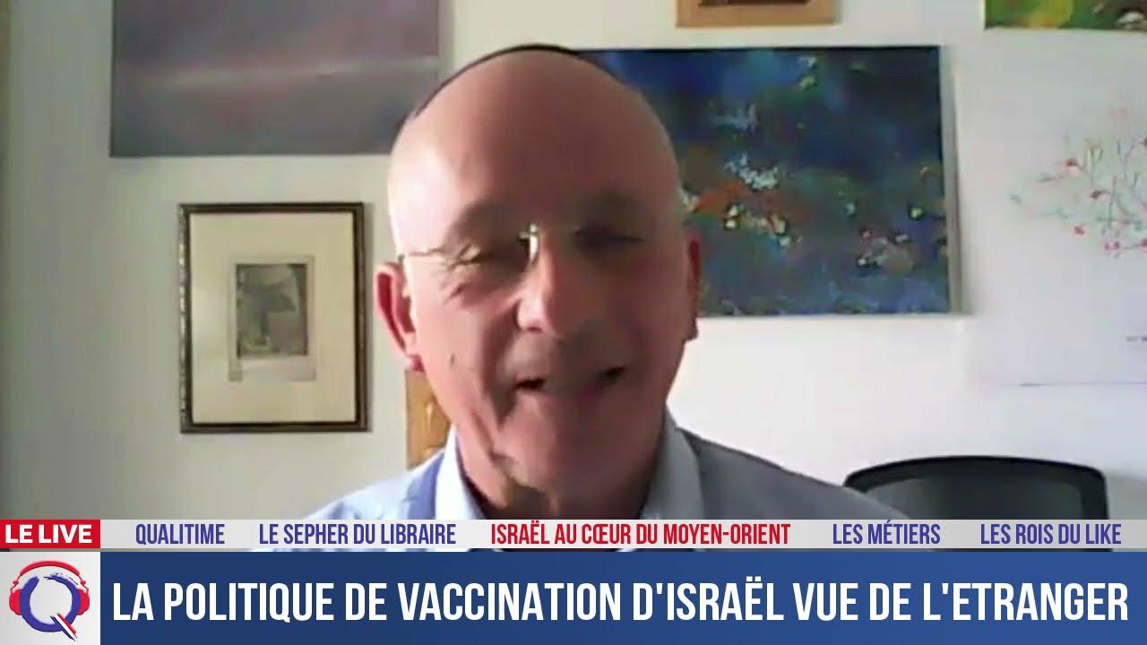 La politique de vaccination israélienne vue de l'étranger - IMO#132