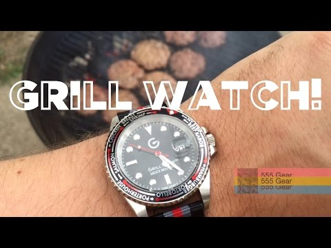 "Review: The Grill Timer Watch by Little Grittle ""Sauce Resistant Wristwatch"""