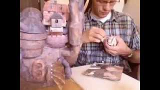Howls Moving Castle Papercraft