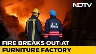 Fire Breaks Out At Factory In West Delhi, 21 Fire Engines Rushed To Spot