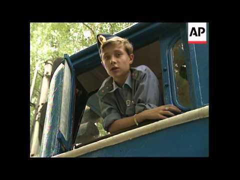"RUSSIA: THE ""LITTLE BEE"" CHILDREN'S RAILWAY LINE"