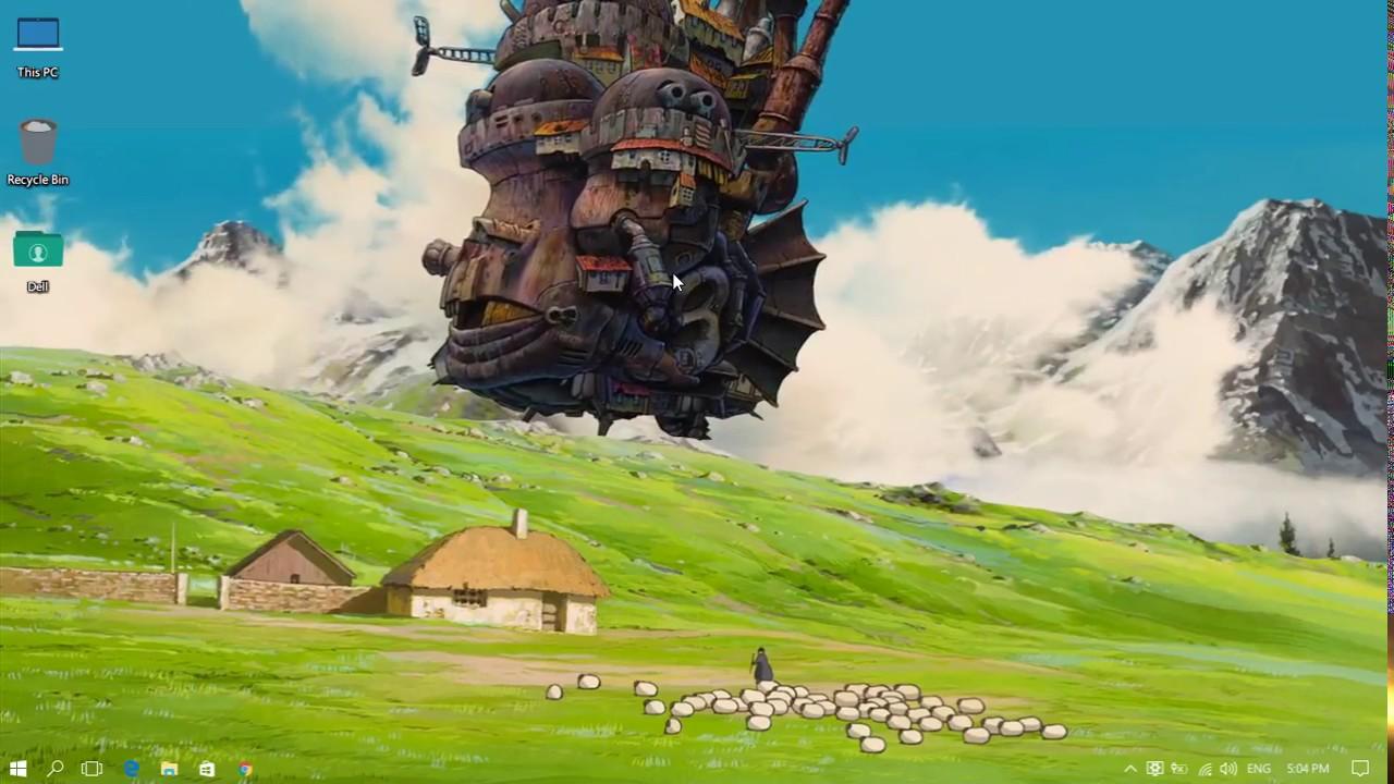 Wallpaper Engine Howl S Moving Castle Youtube