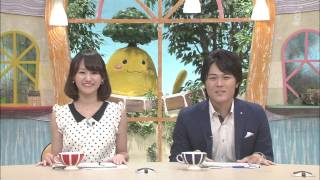エブリのまち OHK 岡山放送 2014年6月30日~7月4日 岡田 愛マリー (...