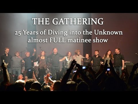 The Gathering, 25 Years of Diving into the Unknown, the Anniversary, almost Full one, Doornroosje