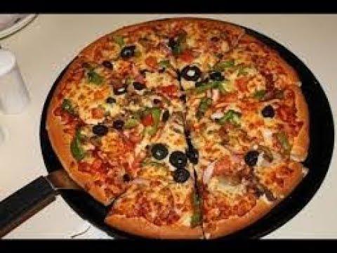 صورة  طريقة عمل البيتزا طريقة عمل البيتزا بالفينو في اقل من 10 دقائق طريقة عمل البيتزا من يوتيوب