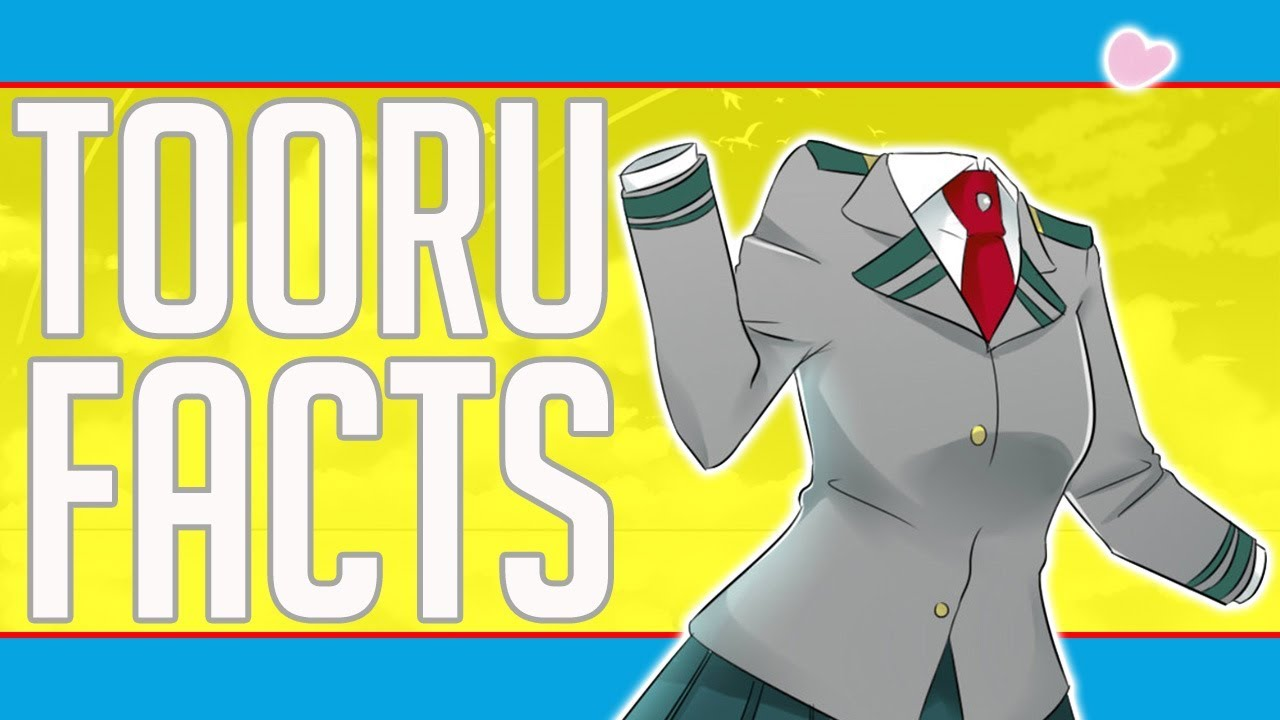 5 Facts About Toru Hagakure My Hero Academia