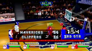 NBA Jam Extreme Gameplay (PSX,PsOne,Playstation)