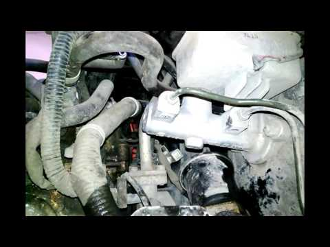 Daewoo Matiz Чистка клапана EGR