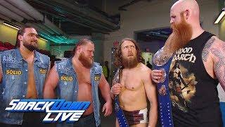 Heavy Machinery eye Daniel Bryan & Rowan's titles: SmackDown LIVE, May 7, 2019