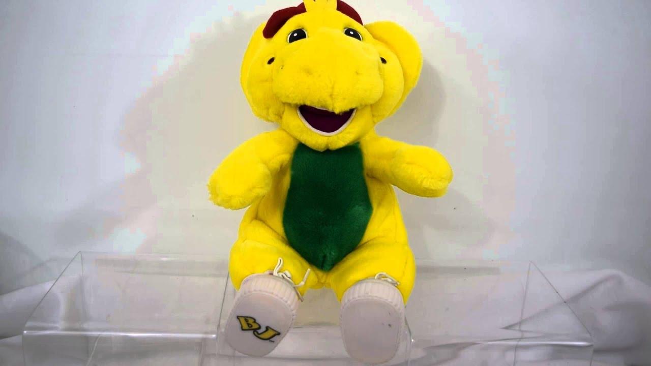 Plush Barney & Friends Childrens Show Dinosaur BJ Singing/Talking Toy
