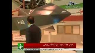 Avión caza iraní Qaher-313 - Conquistador 313