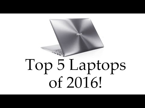 Top 5 Best Laptops (2016) - from gaming to ultrabooks!