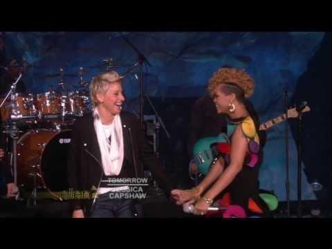 Rihanna Don't Stop The Music Live in Ellen DeGeneres Show HD