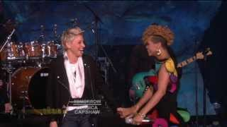 Rihanna Don't Stop The Music Live In Ellen DeGeneres Show HD