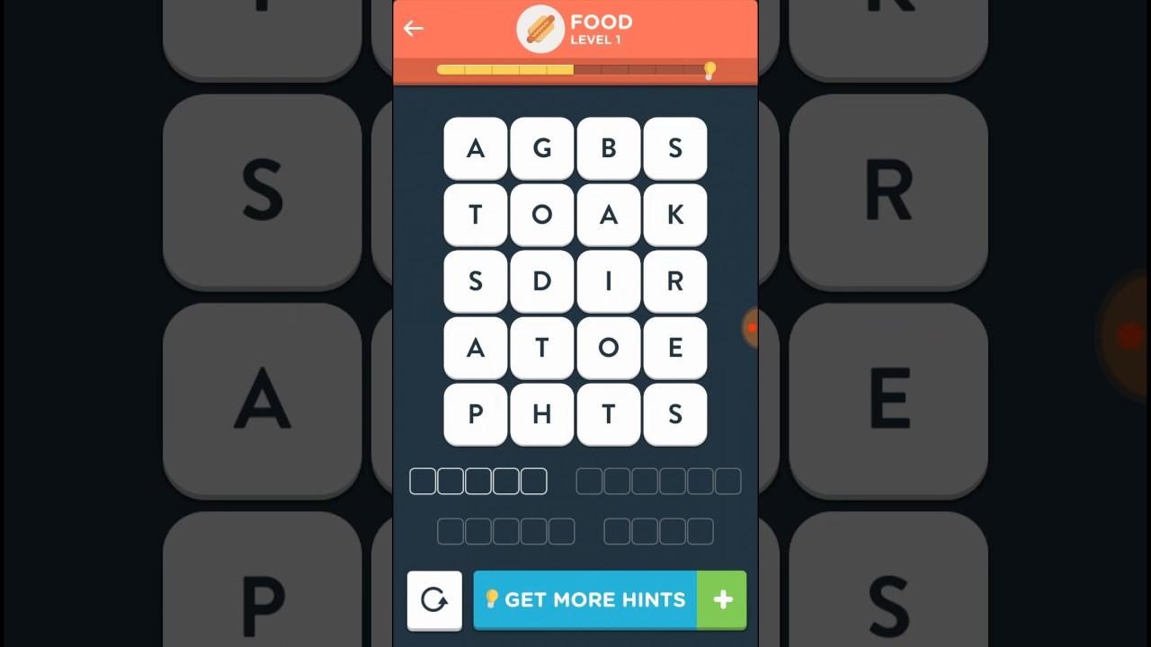 Wordbrain 2 authority food level 1 5 answers walkthrough for Solution wordbrain cuisine