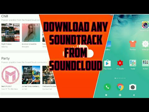 How To DOWNLOAD MUSIC FROM SOUNDCLOUD On Android | طريقة التحميل من برنامج Soundcloud