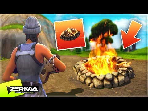 NEW 'COZY CAMPFIRE' UPDATE! (NEW TRAP ITEM) (Fortnite Battle Royale)