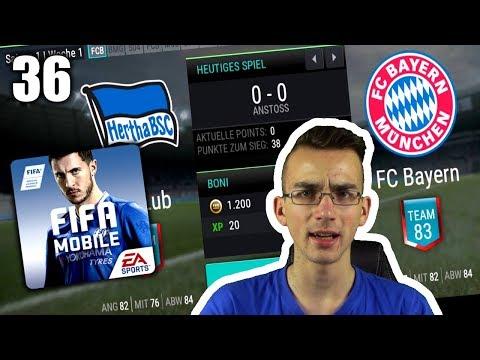 GEGEN DIE BAYERN! FIFA MOBILE #36
