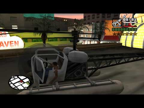 How to collect all 50 Horseshoes at the very beginning of the game - GTA San Andreas