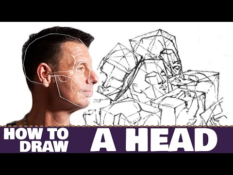 Drawing the head - a simple, structured approach