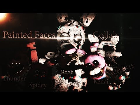 [SFM FNAF OC] PAINTED FACES - Cover/Remix by Rezyon (COLLAB)